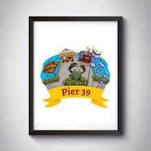 Load image into Gallery viewer, Pier 39 Art Print