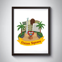 Load image into Gallery viewer, Union Square Art Print