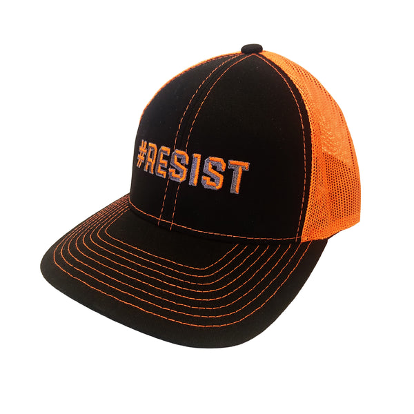 #resist, resist, trucker hat, hat
