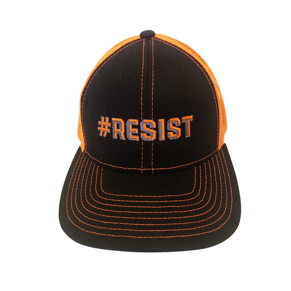 #resist, resist, trucker hat, hat,