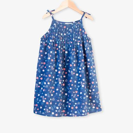 FLOWER PRINT DRESS 3-4YR ONLY