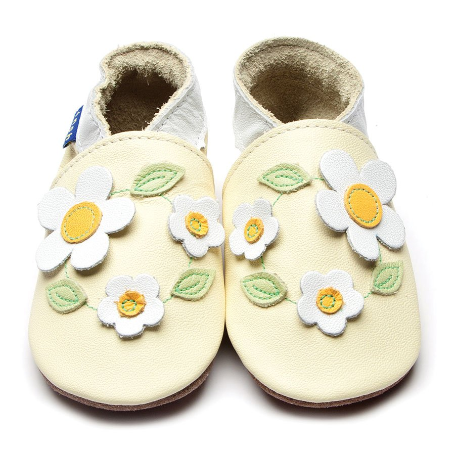 LEATHER SHOES - LEMON DAISY