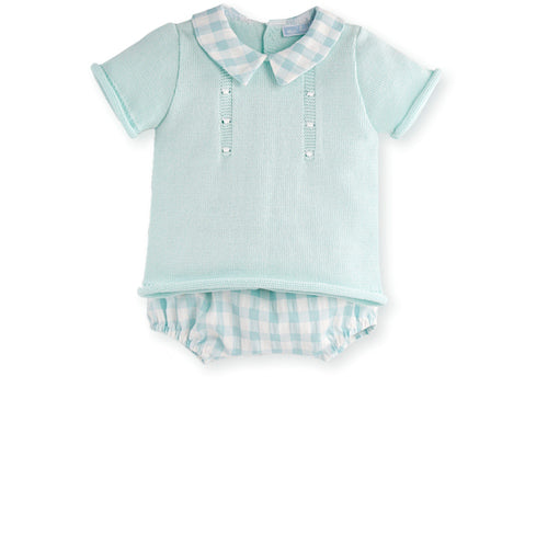 CLUNY SHIRT AND SHORTS 1M, 6M, 12M