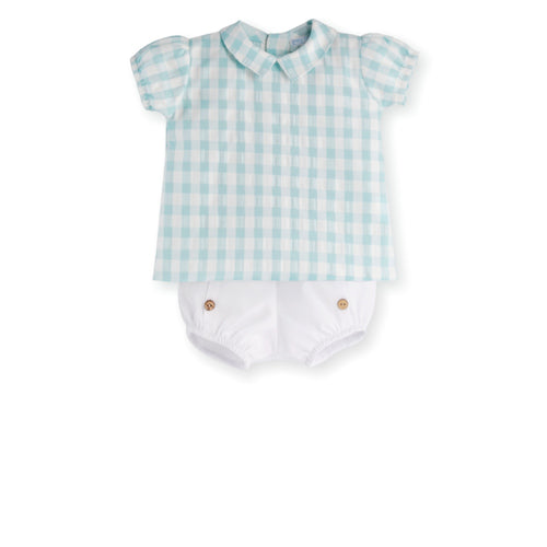CLUNY SHIRT AND SHORTS 18M, 24M ONLY