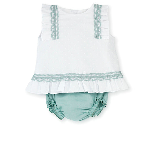 PLUMETI TOP AND SHORTS