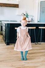 Load image into Gallery viewer, ROSEWOOD LINEN PINAFORE AGE 9 ONLY