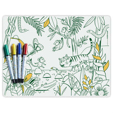 Load image into Gallery viewer, NON TOXIC MARKER MAT (JUNGLE, BOSTON, LONDON, TEXAS)