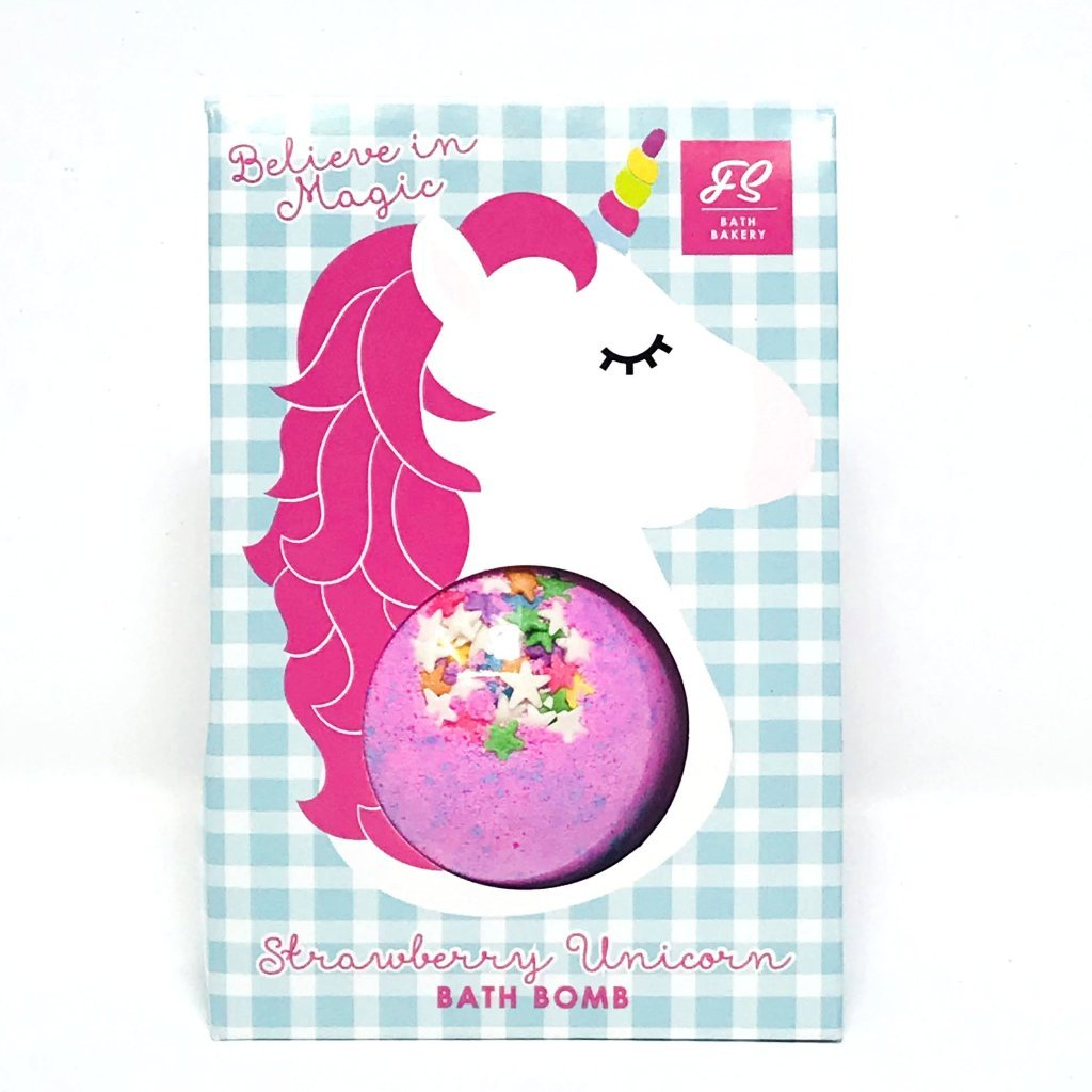 STRAWBERRY UNICORN BATH BOMB