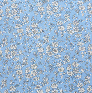 LIBERTY LONDON HAIR CLIPS CAPEL LIGHT BLUE
