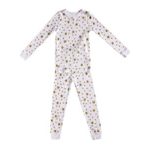 UNISEX PJ WHITE STAR ( size 2 only )