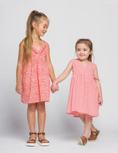 Load image into Gallery viewer, LUCY DRESS - BLUE OR PEACH