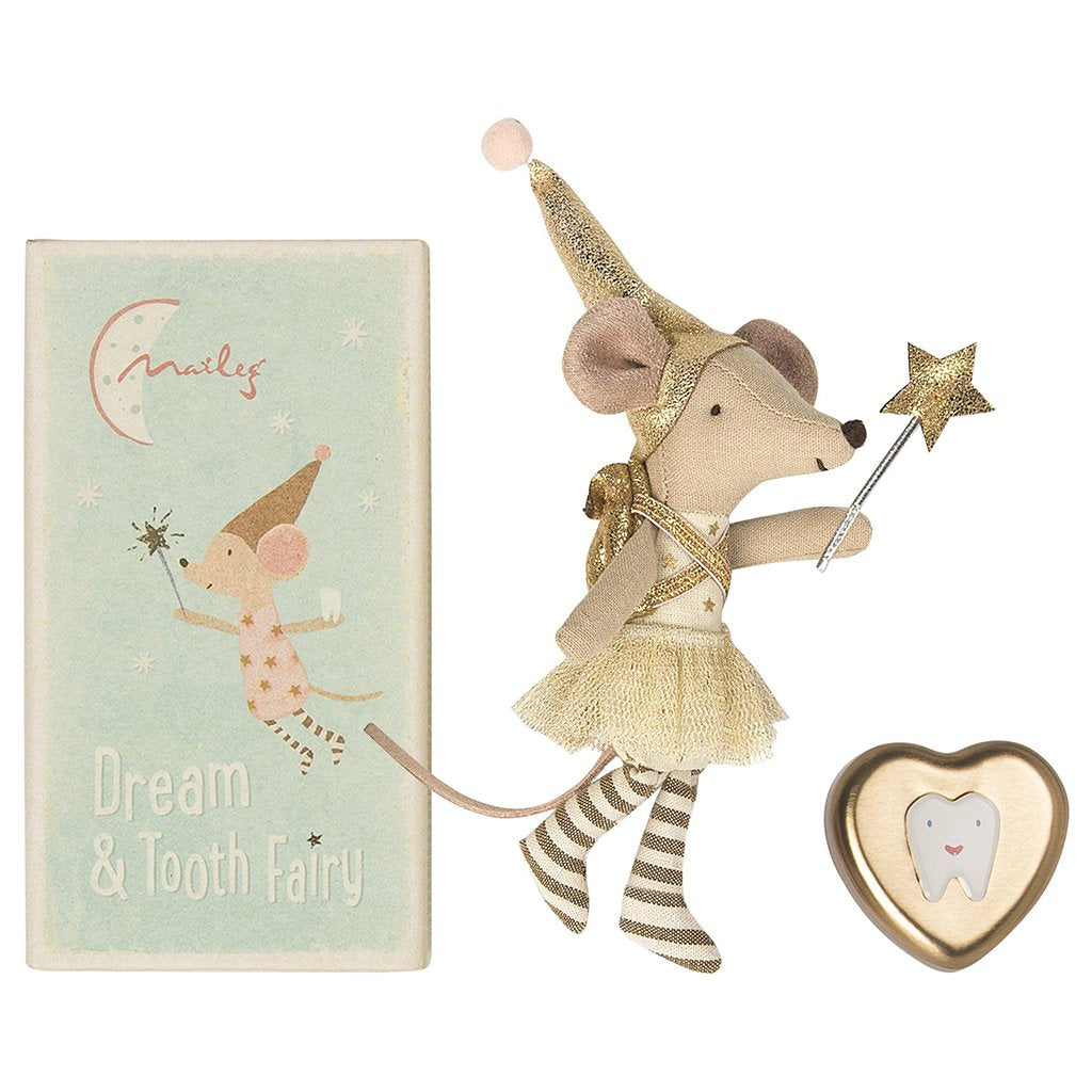 TOOTH FAIRY MOUSE AND TOOTH BOX