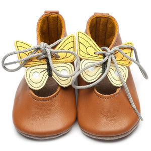 HEIRLOOM LEATHER SHOES - RILEY CARAMEL