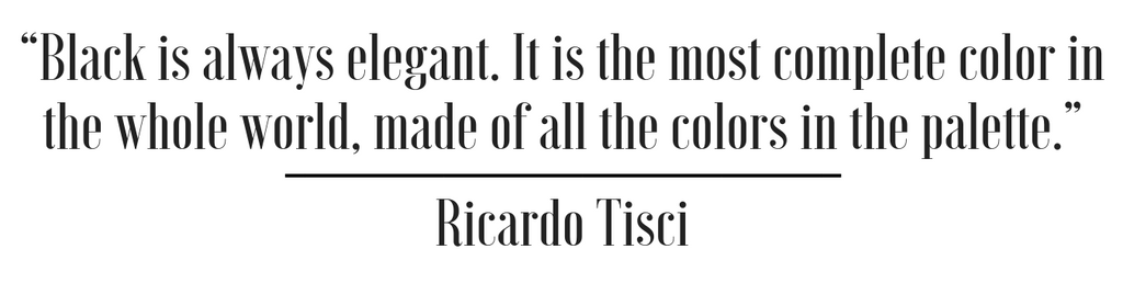black quote ricardo tisci