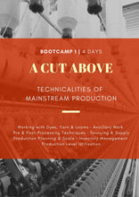 Load image into Gallery viewer, BOOT CAMP 1 | Hyderabad | 4 Days | A Cut Above: Technicalities of Mainstream Production