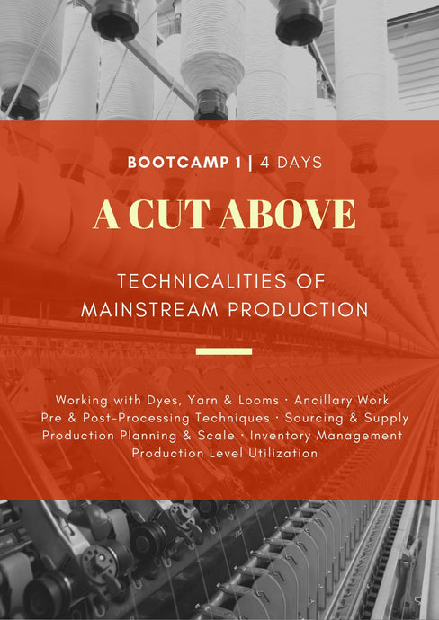 BOOT CAMP 1 | Hyderabad | 4 Days | A Cut Above: Technicalities of Mainstream Production