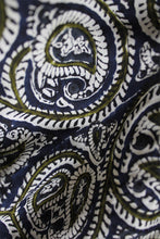Load image into Gallery viewer, Azo Free Dye Block Print Silk Fabric