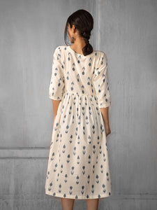 AUGUST | Gathered Dress