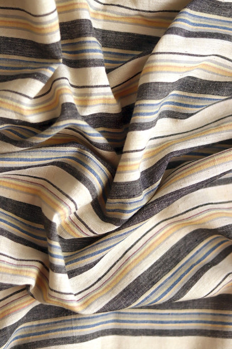 Natural Dye Signature Weave Cotton Fabric - Creative Bee