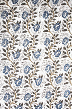 Load image into Gallery viewer, Natural Dye Block Print Cotton Fabric