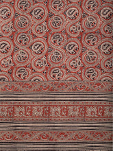 Load image into Gallery viewer, Natural Dye Block Print Cotton Sari