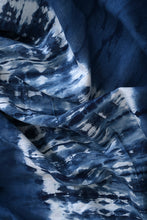Load image into Gallery viewer, Natural Dye Shibori Cotton Fabric