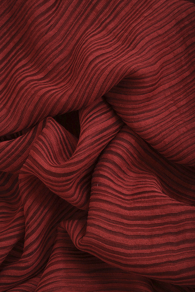 Natural Dye Signature Weave Silk Fabric