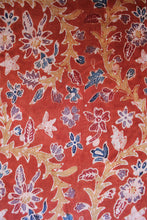 Load image into Gallery viewer, Natural Dye Batik Cotton x Silk Fabric