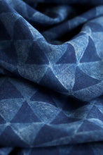 Load image into Gallery viewer, Natural Indigo Block Print Cotton Dupatta - Creative Bee
