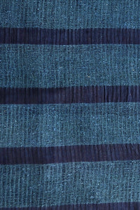 Signature Weave Natural Indigo Silk Dupatta - Creative Bee