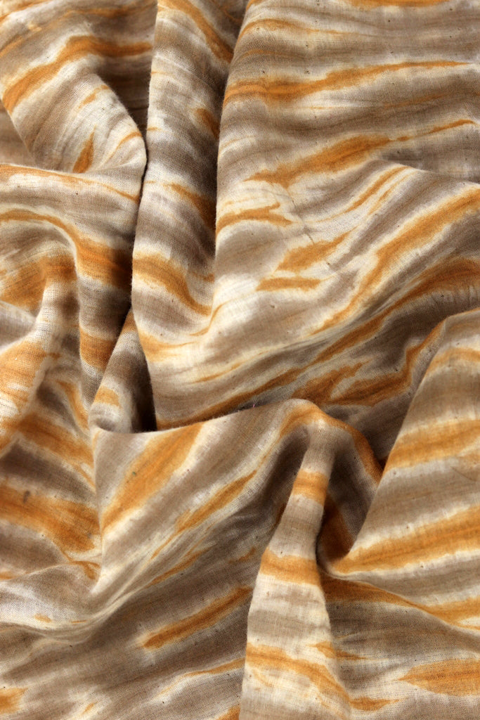 Natural Dye Shibori Cotton Fabric - Creative Bee