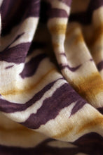 Load image into Gallery viewer, Natural Dye Shibori Cotton x Silk Fabric - Creative Bee