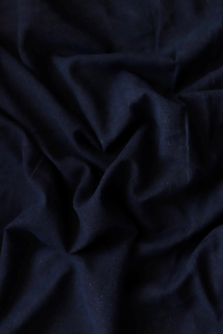 Natural Indigo Signature Weave Cotton Fabric - Creative Bee