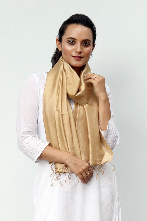 Signature Weave Silk Stole - Creative Bee