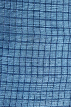 Load image into Gallery viewer, Natural Indigo Signature Weave Silk Stole - Creative Bee