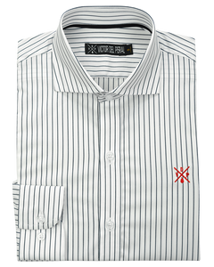 Camisa Flat Navy Stripes