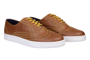 Zapatillas Oxford Miel