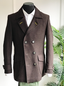 Safari Brown Peacoat