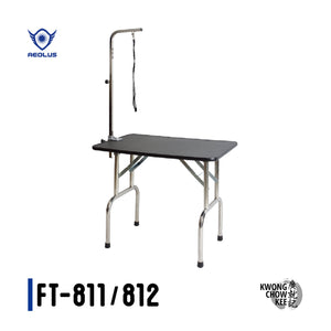 Foldable S/S Grooming Table