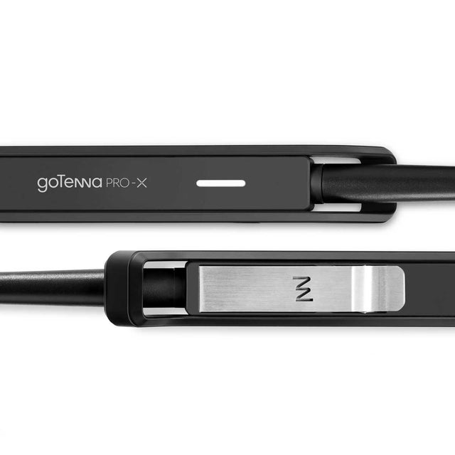 goTenna Pro X Front and Back