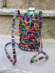 Bottle Pouch | Mardi Beads Fabric | Stitchpaint