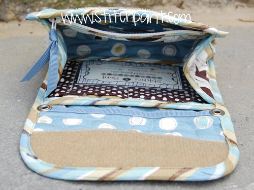 Mini Wallet Inside | Breezy Fabric | Stitchpaint