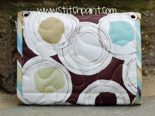 Mini Wallet Back | Breezy Fabric | Stitchpaint