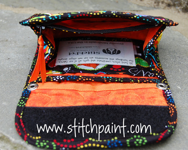 Mini Wallet Inside | Cat Love Fabric | Stitchpaint