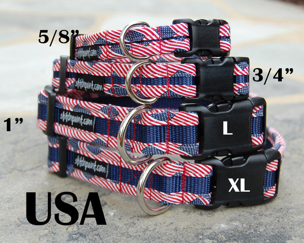 USA Dog Collar | Stitchpet