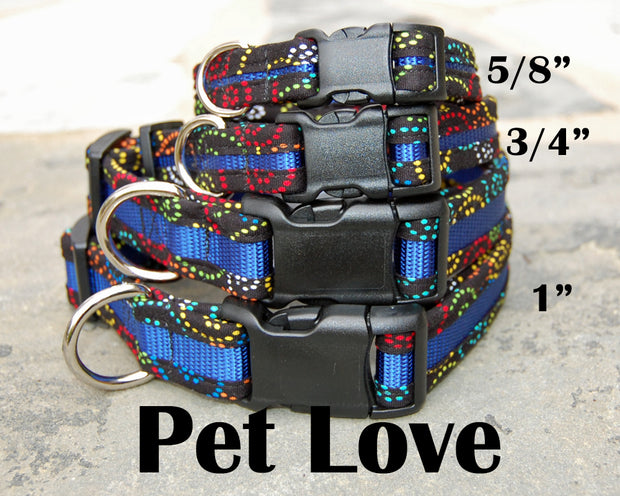 Dog Love Dog Collar | Stitchpet