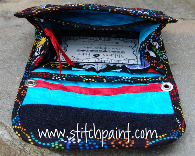 Mini Wallet Inside | Dog Love Fabric | Stitchpaint