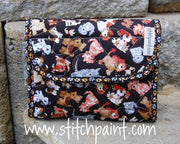 Mini Wallet | Dogs Fabric | Stitchpaint