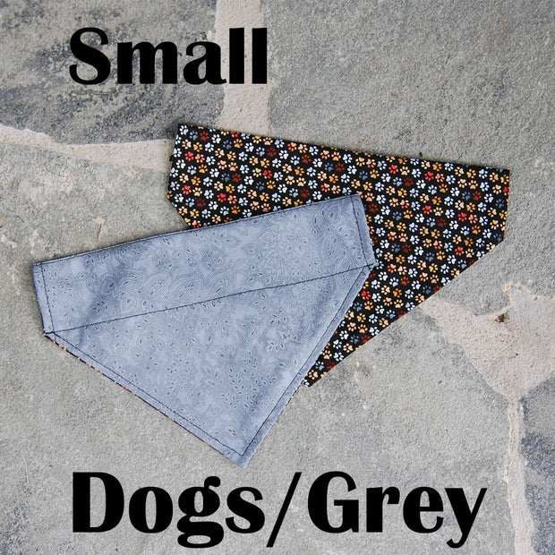 Reversible Dog Scarf