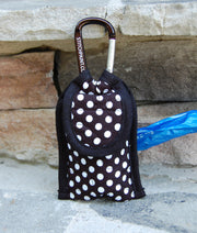 Poo Bag Pouch | Dog Poop Bag Holder | Dots